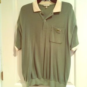 Rare Men's Vintage Lacoste Polo Shirt